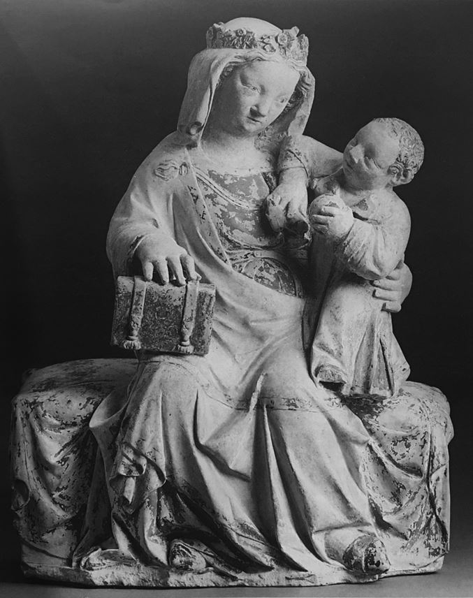 Enthroned Virgin and Child | MasterArt