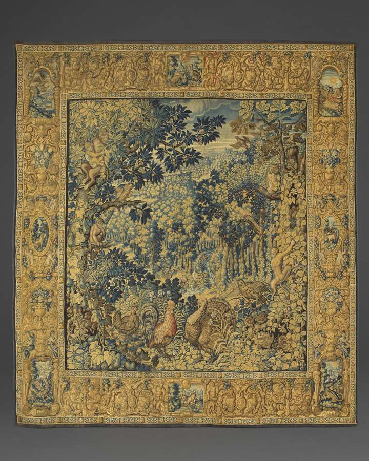 A 'Parc Sauvages' Tapestry