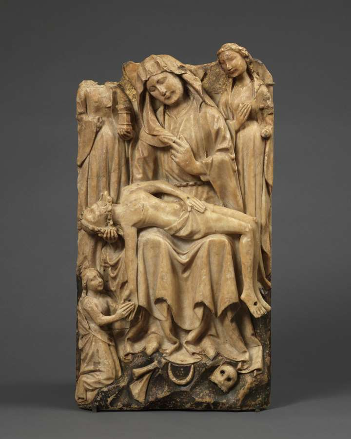 Relief with the Lamentation of Christ