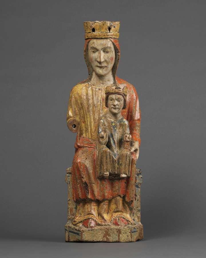 Sedes Sapientiae Enthroned Virgin & Child