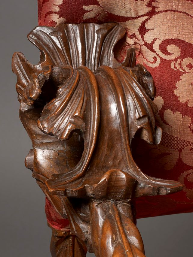 A Pair of Baroque Carved Armchairs | MasterArt