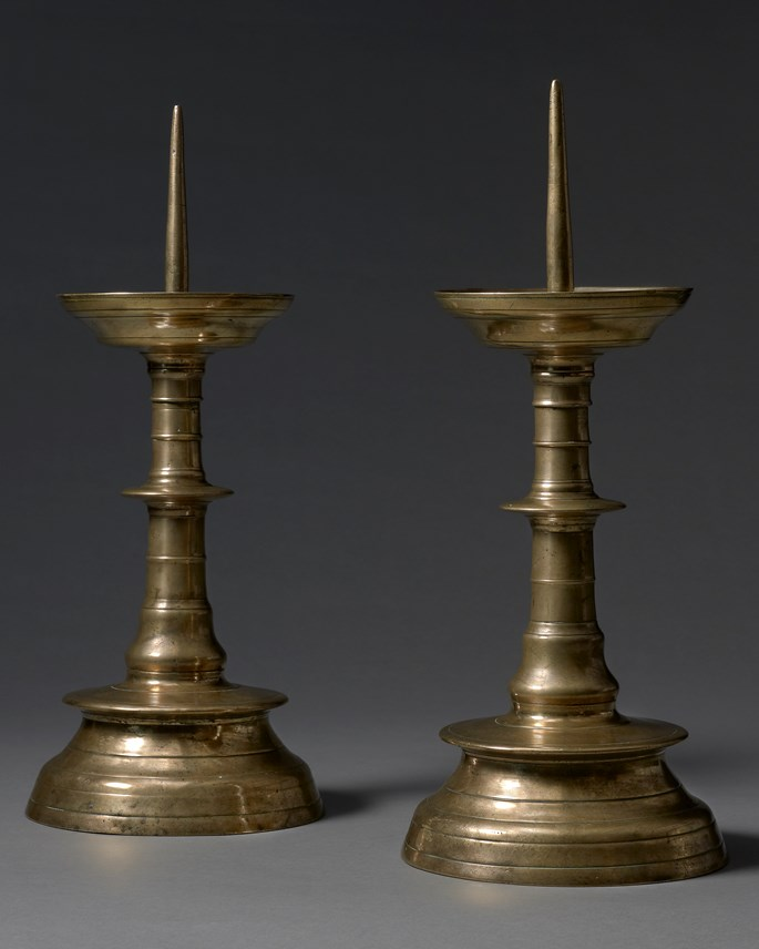 A Pair of Pricket Candlesticks | MasterArt