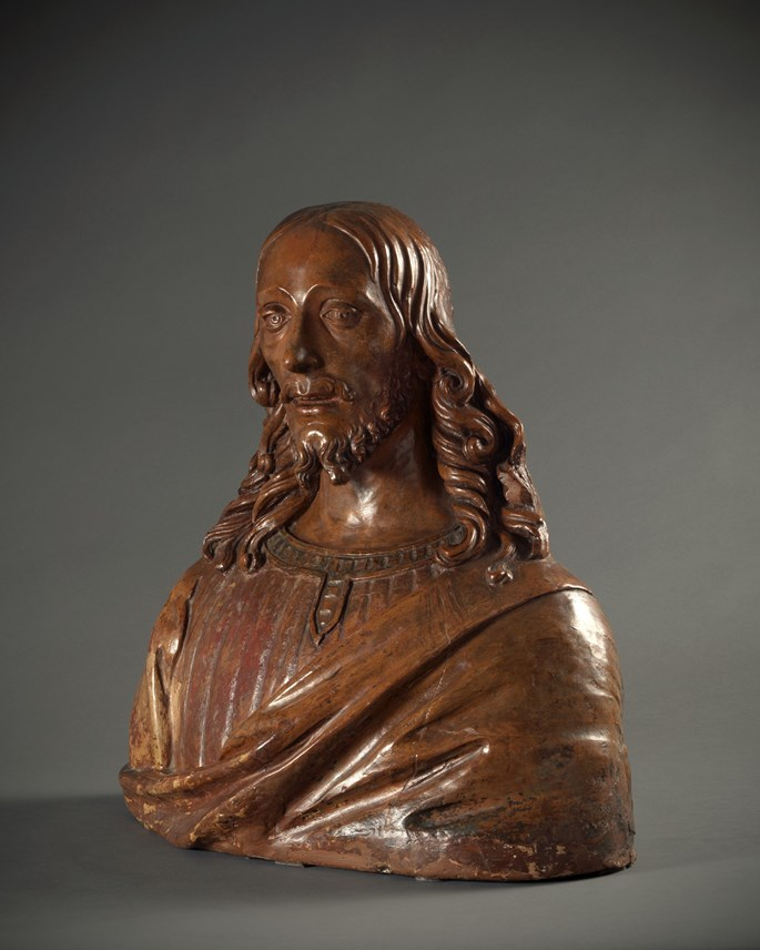 Agnolo di Polo - Bust of Christ | MasterArt