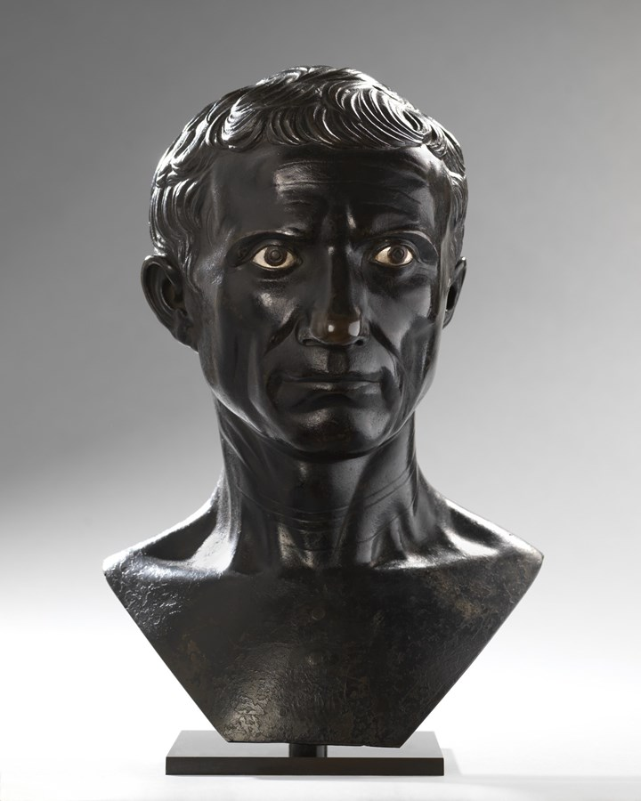 Bust of the Augustan Julius Caesar