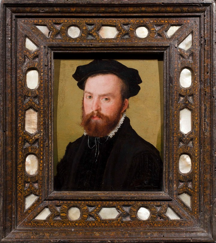 Portrait of a Gentleman, Bust Length, with a Black Velvet Cap