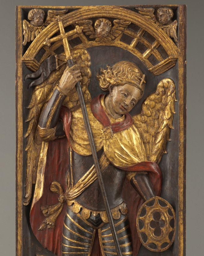 Retable Panel with Saint George and the Dragon   | MasterArt