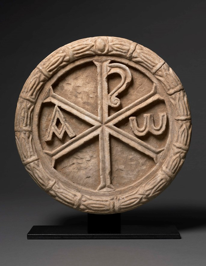 Roundel with Chi Rho | MasterArt