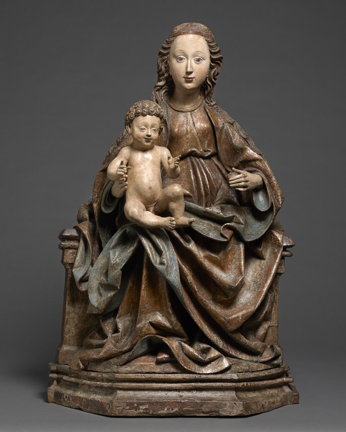 Seated Madonna and Child | MasterArt