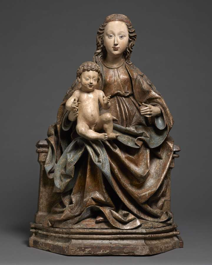 Seated Madonna and Child