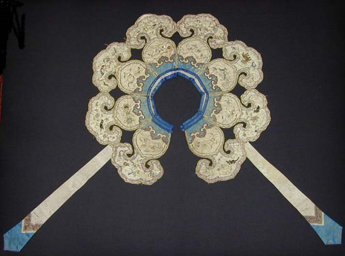 Chinese cloudband collar