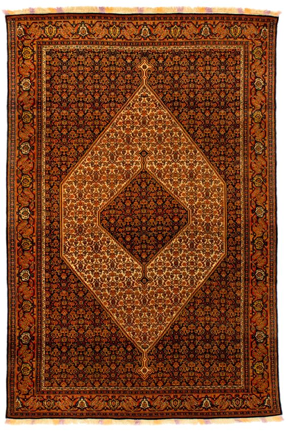 Fine Senneh rug   MasterArt