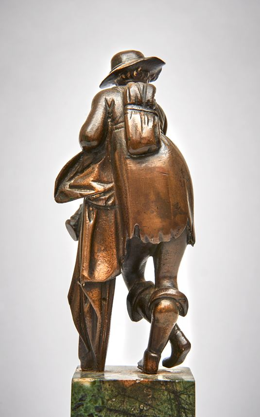 Giovanni da Bologna/Giambologna - A Peasant or Cowherd Resting on his Staff | MasterArt