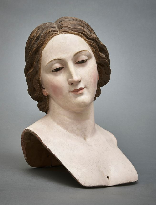 Giovanni Battista Polidoro - A Processional Bust of a Female Saint | MasterArt