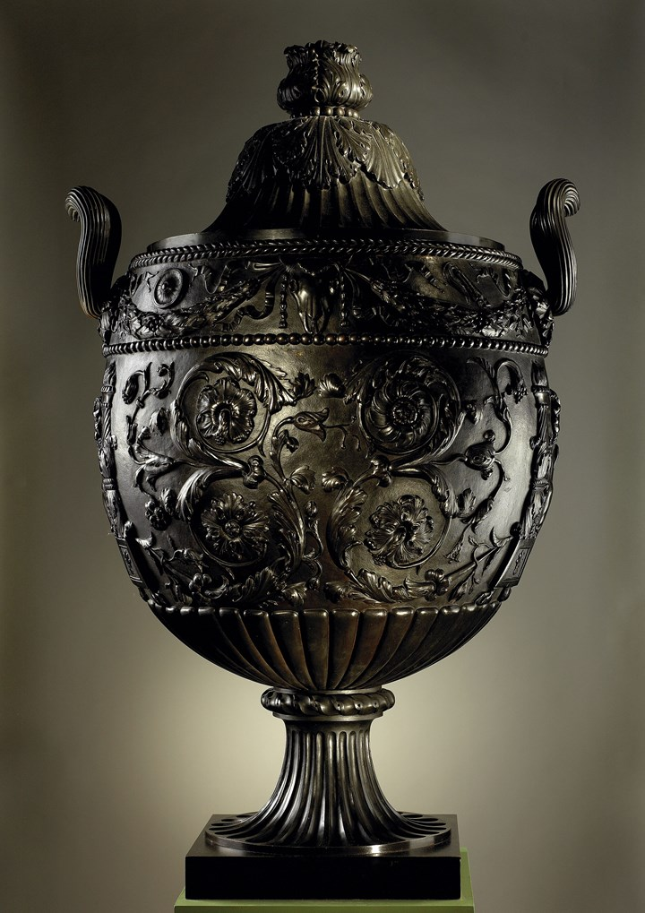 An English Neoclassical Bronze Vase after the Antique
