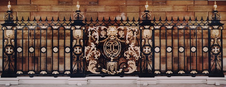 THE CHESTERFIELD HOUSE RAILINGS
