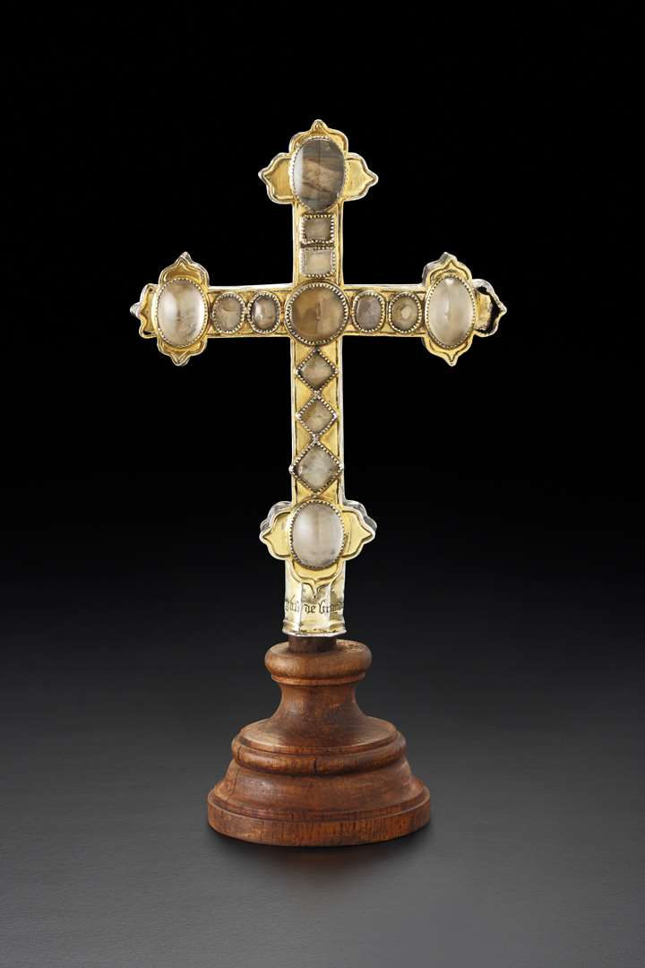 French reliquary cross