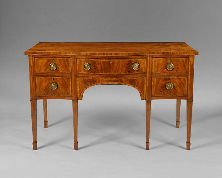 A very good George III sideboard