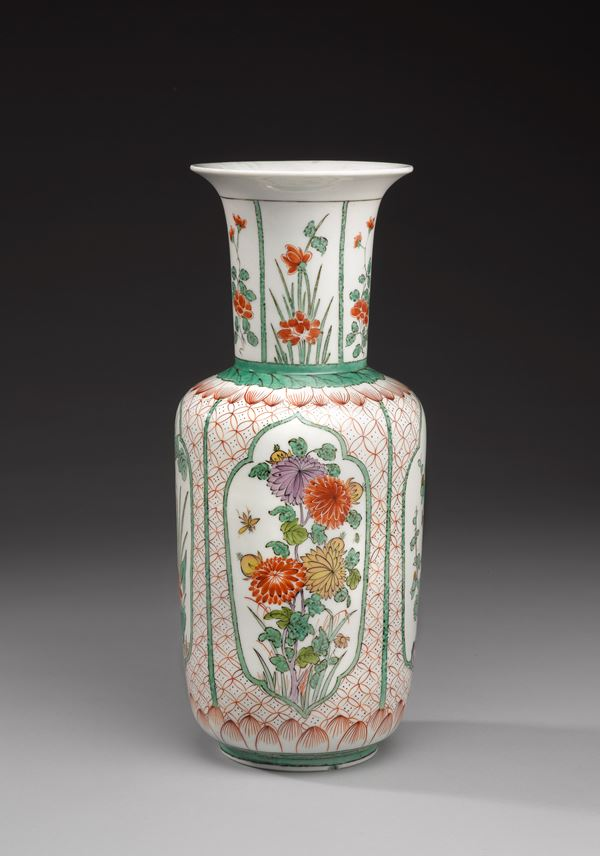 An Augustus Rex vase with floral emblems of the seasons  | MasterArt