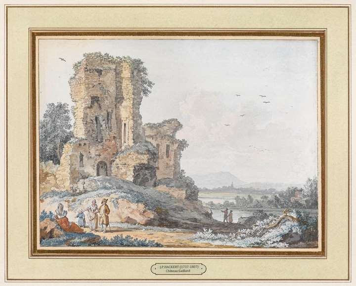 Pair of Gouaches