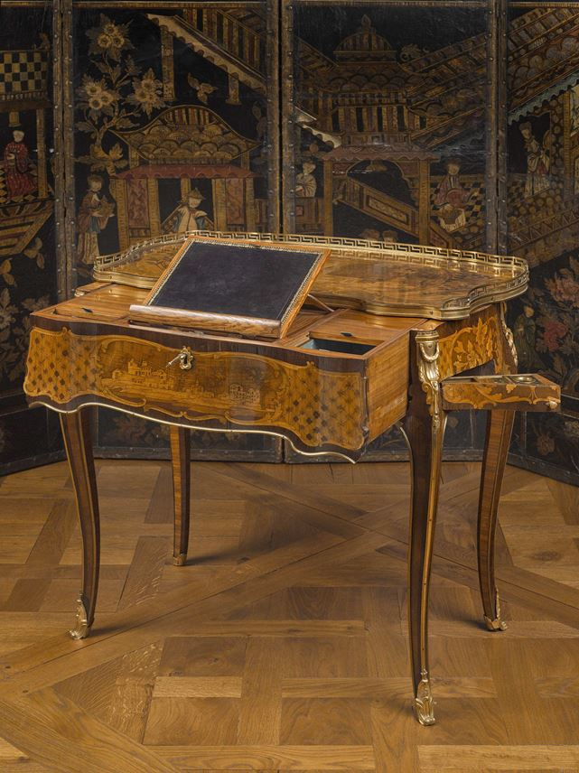 Léonard Boudin - A combined writing and dressing table  (table à transformation) | MasterArt