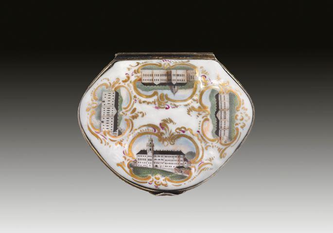 Snuffbox with architectural views and a portrait of Ludwig Günther II of Schwarzburg-Rudolstadt | MasterArt