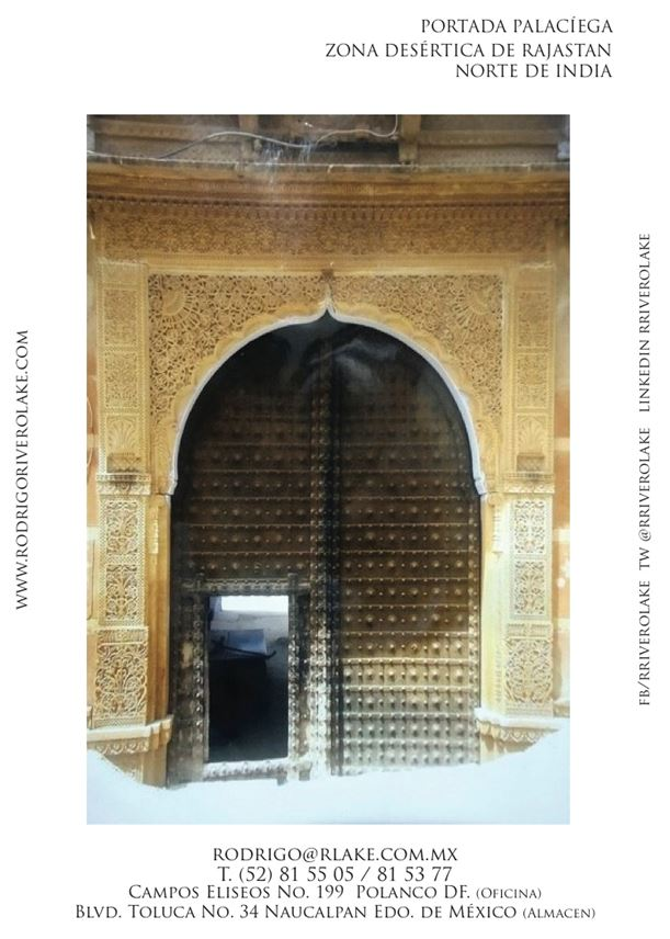 Miscellaneous   - Stone Arch (façade) from Rajasthan, North of India.  | MasterArt