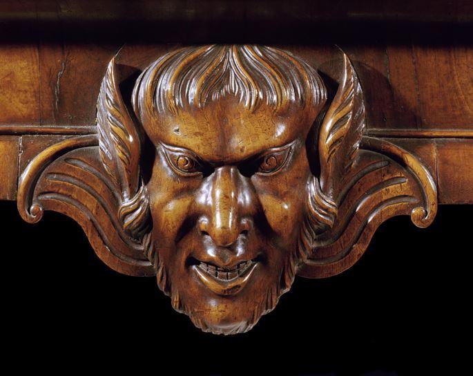 Giles Grendey - A GEORGE II WALNUT SIDE TABLE   MasterArt
