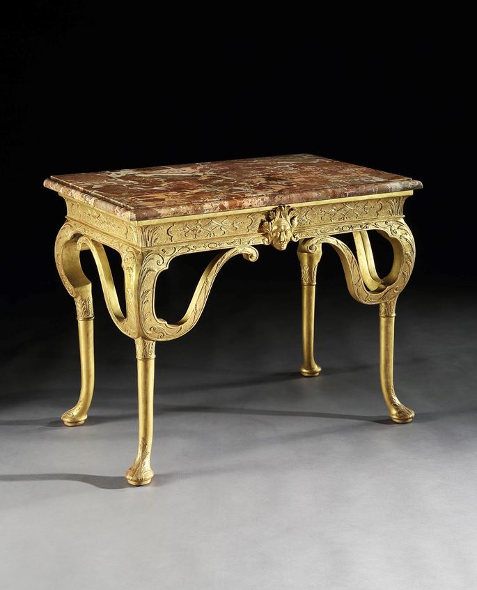 James Moore - A GEORGE I GESSO SIDE TABLE | MasterArt