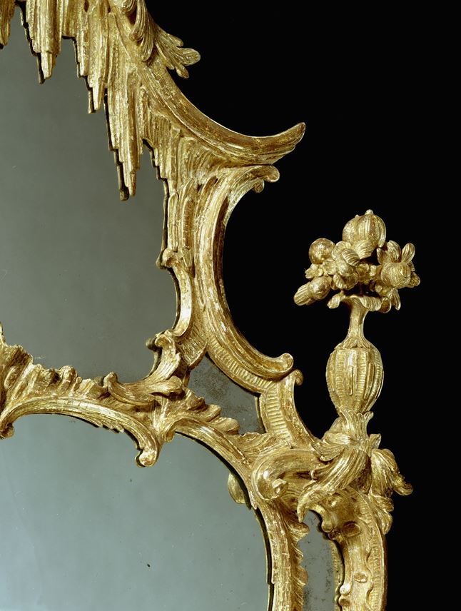 John Linnell - A GEORGE III CARVED PIER GLASS | MasterArt