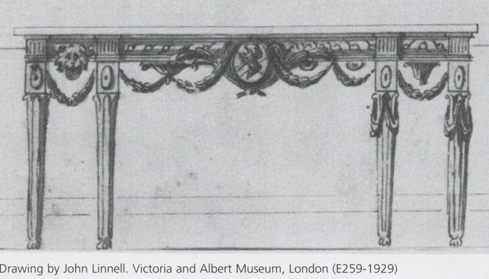 John Linnell - THE DAISY FELLOWES SPECIMEN MARBLE TABLE  | MasterArt