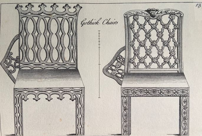 THE KINGS NYMPTON MANOR DINING CHAIRS | MasterArt