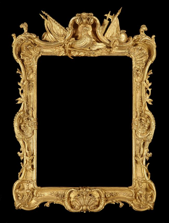 A GEORGE III GLTWOOD ROYAL PICTURE FRAME  | MasterArt
