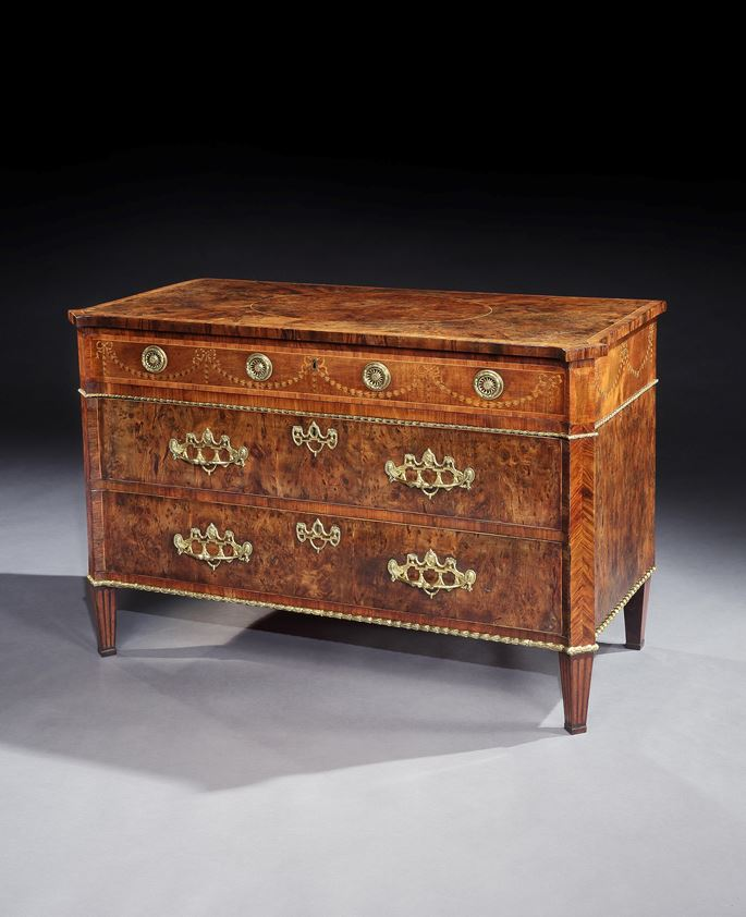 Mayhew & Ince - A GEORGE III YEW WOOD COMMODE | MasterArt