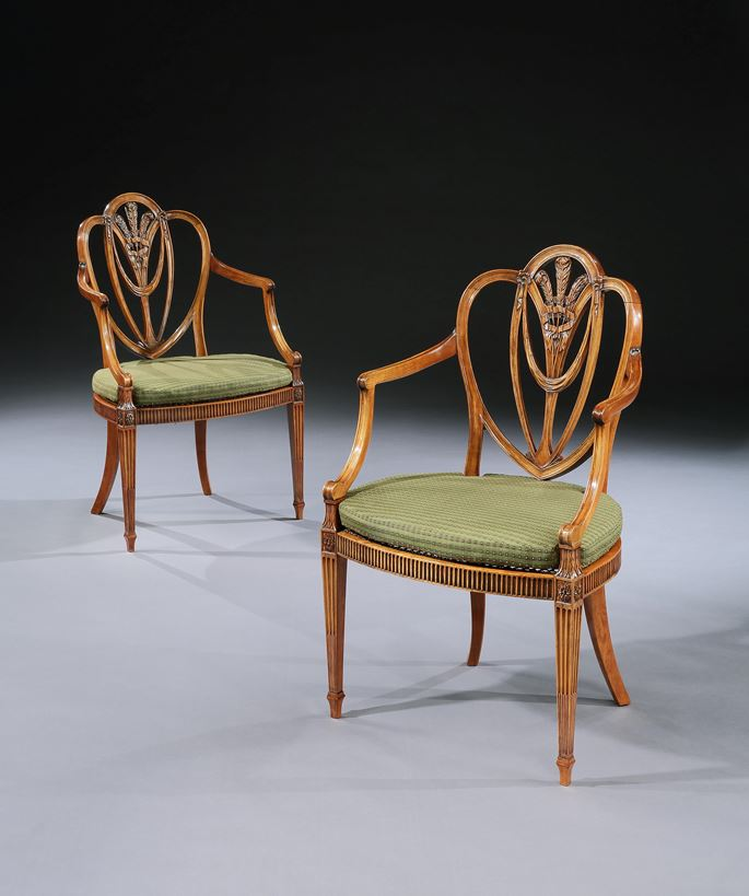Gillows Of Lancaster - A PAIR OF 'PRINCE'S PATTERN' CHAIRS | MasterArt