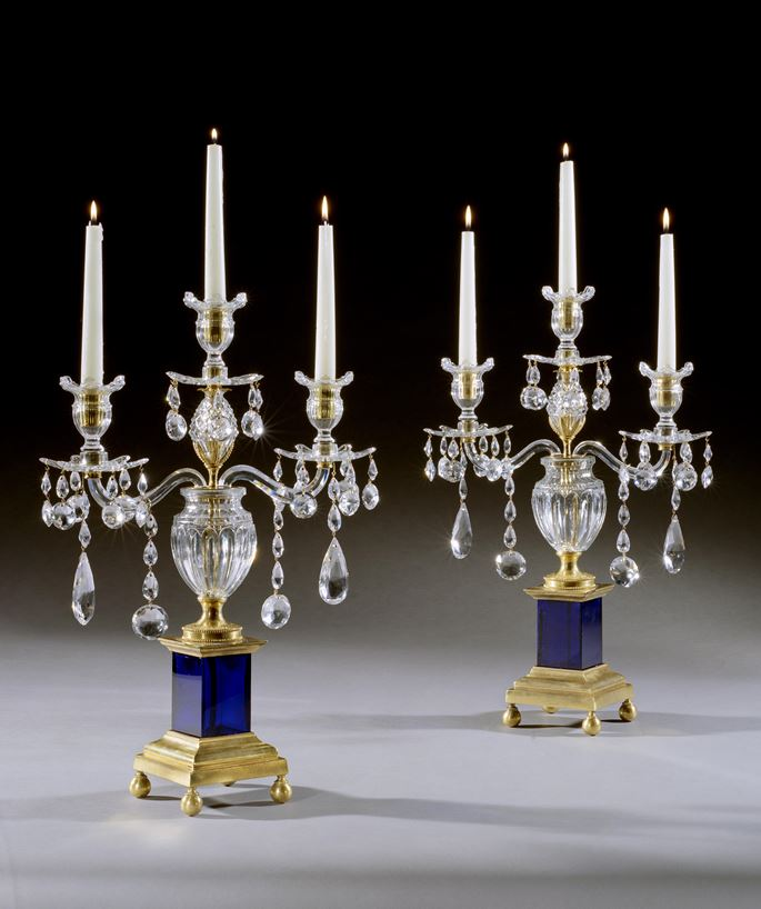 Parker & Perry - A PAIR OF GEORGE III CANDELABRA | MasterArt