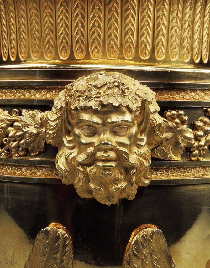 A PAIR OF GEORGE III ORMOLU ICE PAILS BY BENJAMIN VULLIAMY | MasterArt