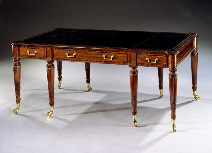 John Syers - A REGENCY MAHOGANY LIBRARY TABLE | MasterArt