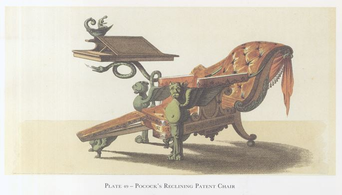 William Pocock - A REGENCY RECLINING CHAIR | MasterArt