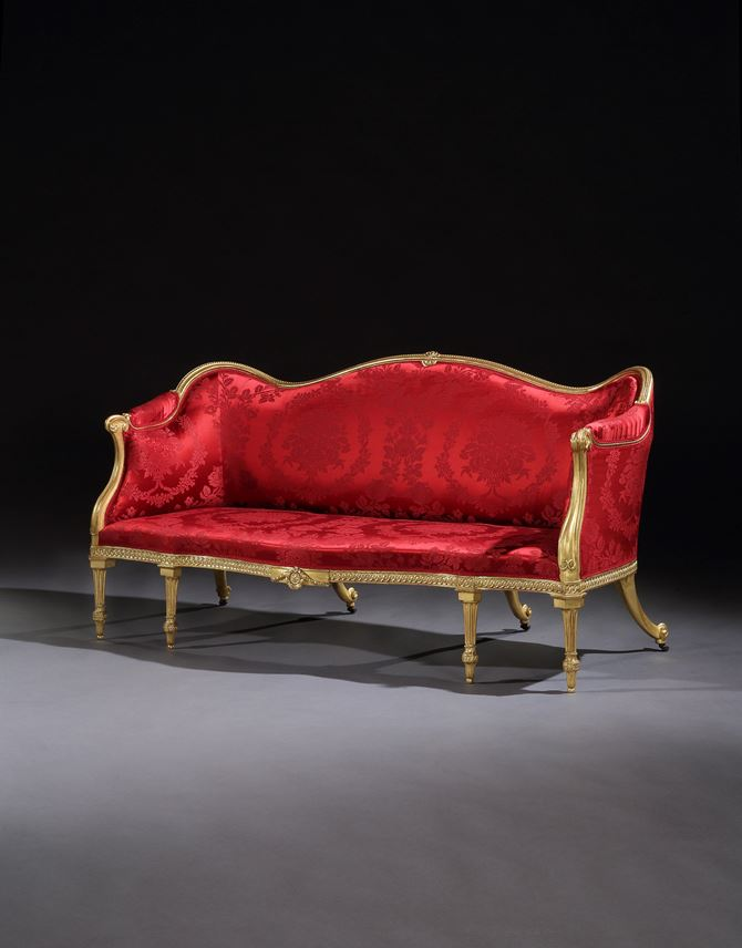 A SUITE OF GEORGE III GILTWOOD SEAT FURNITURE | MasterArt