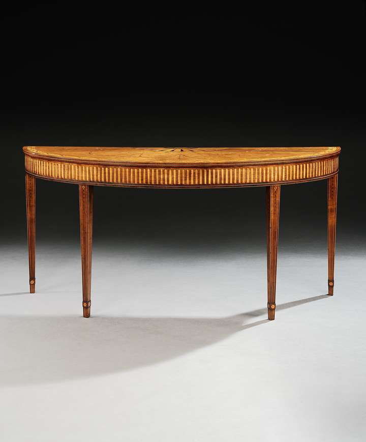 An Irish Harewood side table