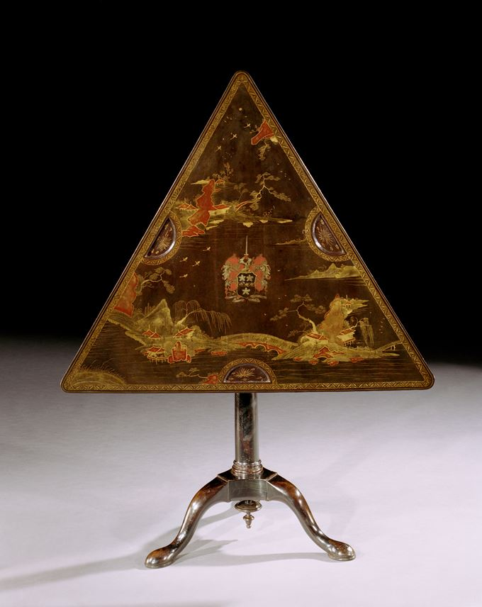 JAMES CRAGGS THE ELDER'S TRIANGULAR GAMES TABLE | MasterArt