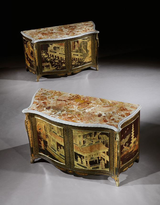 THE ASHBURNHAM PLACE LACQUER COMMODES | MasterArt
