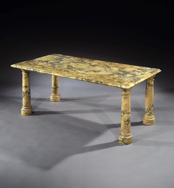 THE BANTRY HOUSE SIENA MARBLE TABLES   | MasterArt