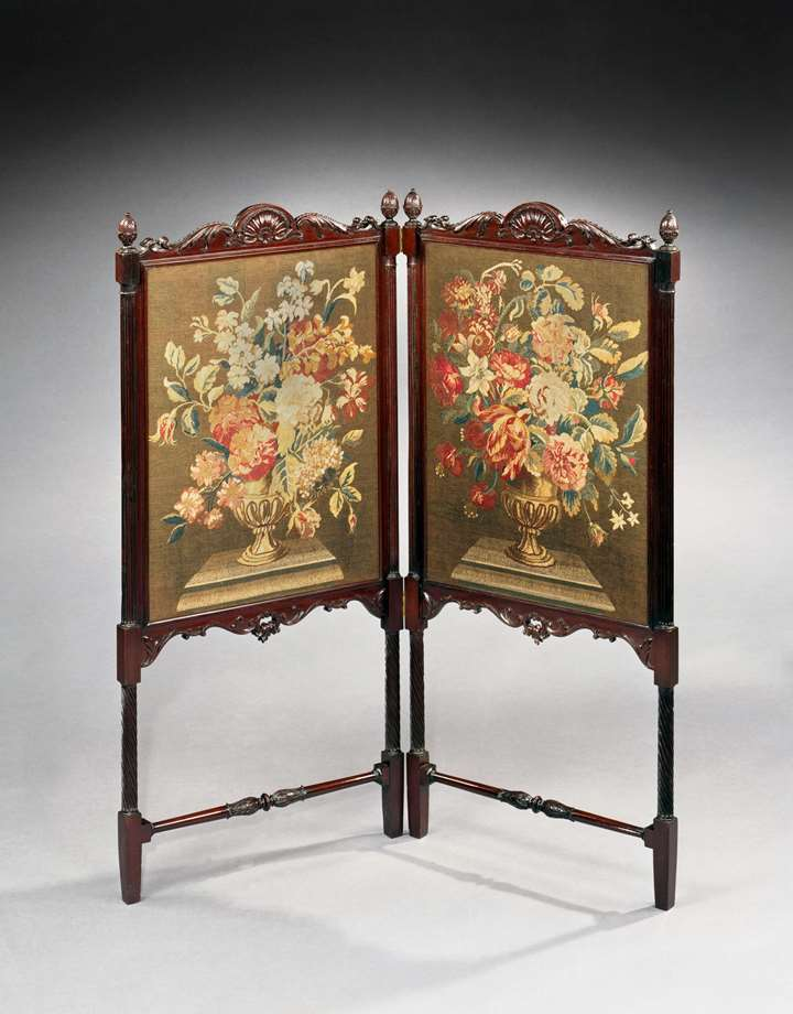 THE CUSWORTH HALL FIRE SCREEN