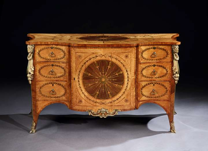 THE HAREWOOD HOUSE COMMODE
