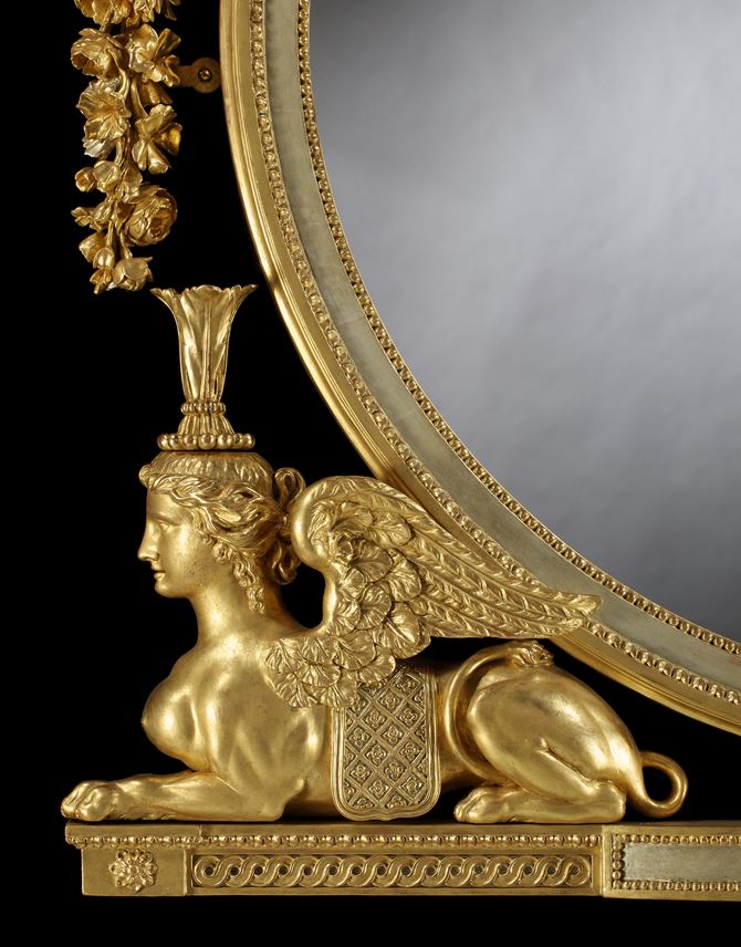 Thomas Chippendale - THE HAREWOOD HOUSE MIRROR | MasterArt