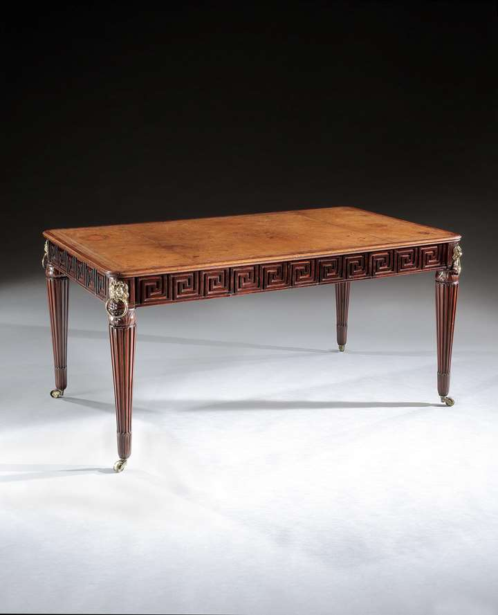 THE KERFIELD HOUSE LIBRARY TABLE