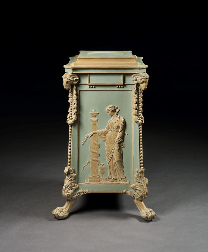 THE NEWBY HALL PEDESTAL FROM THE ETRUSCAN DINING ROOM SUITE | MasterArt