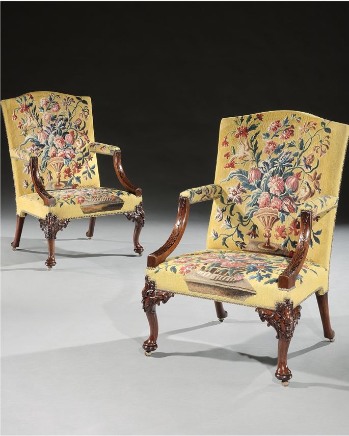 THE UNTERMYER LIBRARY ARMCHAIRS | MasterArt