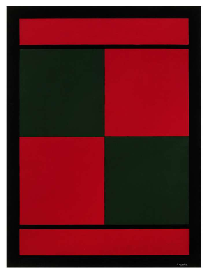 Red and green squares